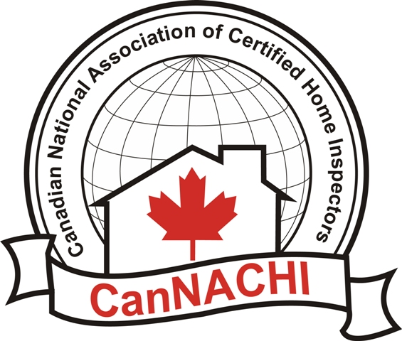 Large CanNACHI Home Inspector Logo